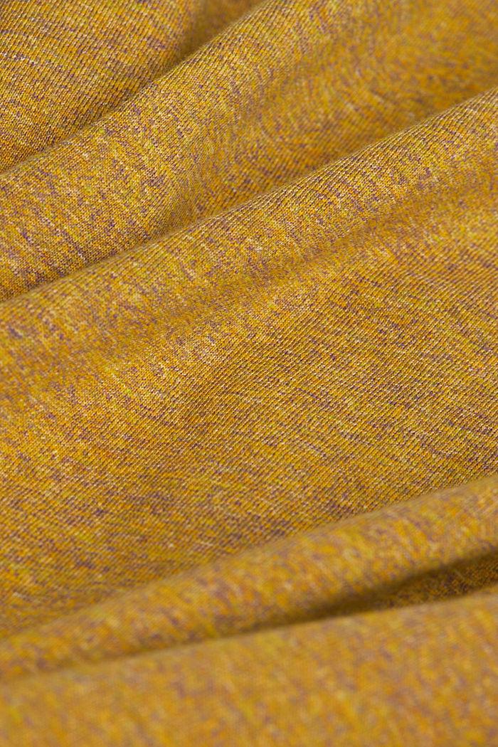 Jersey top in 100% organic cotton, GOLDEN ORANGE, detail image number 4