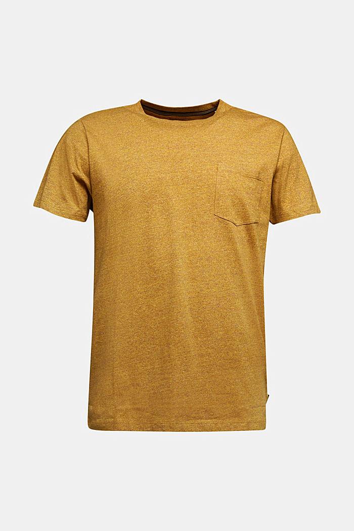 Jersey top in 100% organic cotton, GOLDEN ORANGE, detail image number 6