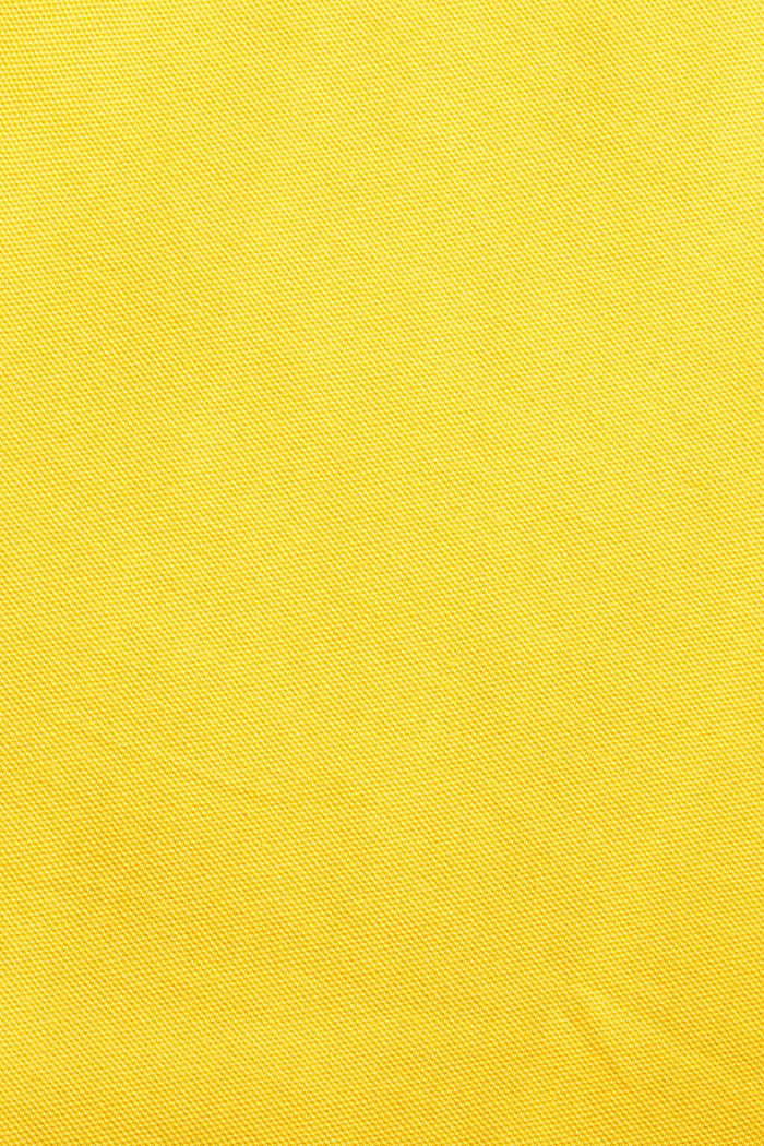 Piqué polo shirt made of stretchy organic cotton, SUNFLOWER YELLOW, detail image number 1