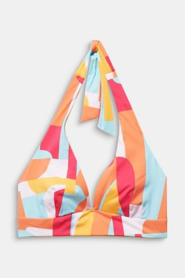 Printed triangle top, DUSTY YELLOW, detail