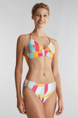 Midi briefs with a print, DUSTY YELLOW, detail