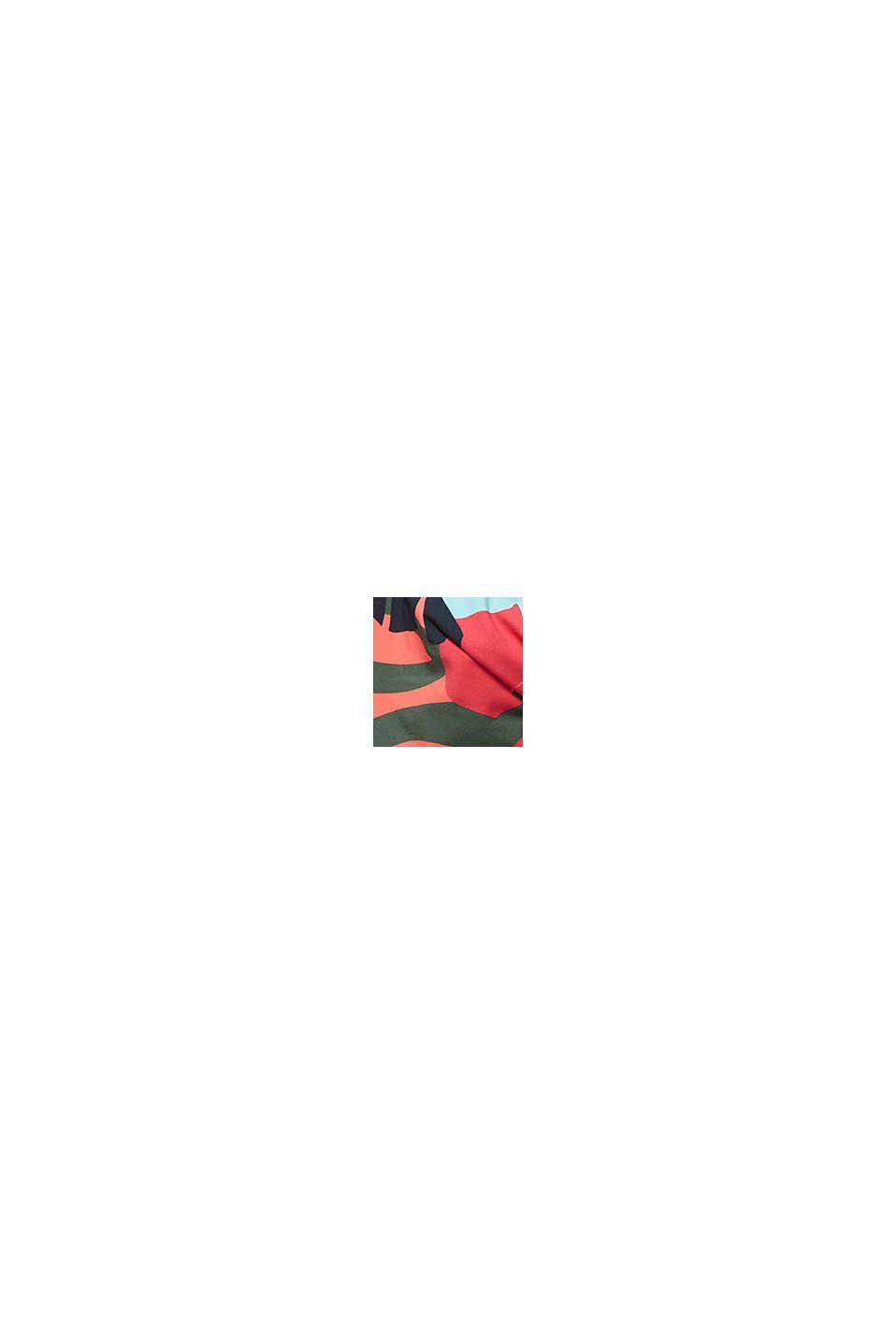 Recycelt: Neckholder-Top mit Print, PINK FUCHSIA, swatch