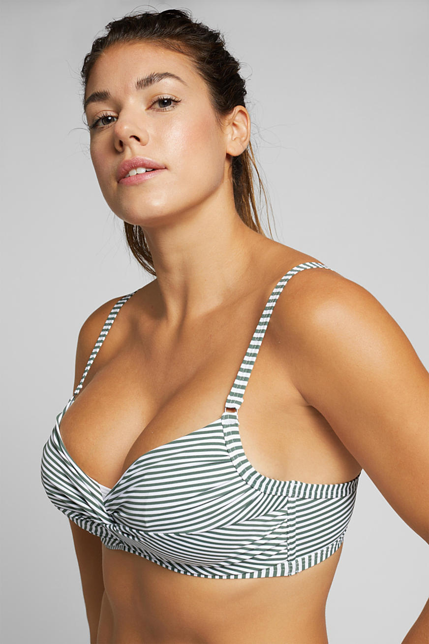 Underwire top for large cup sizes