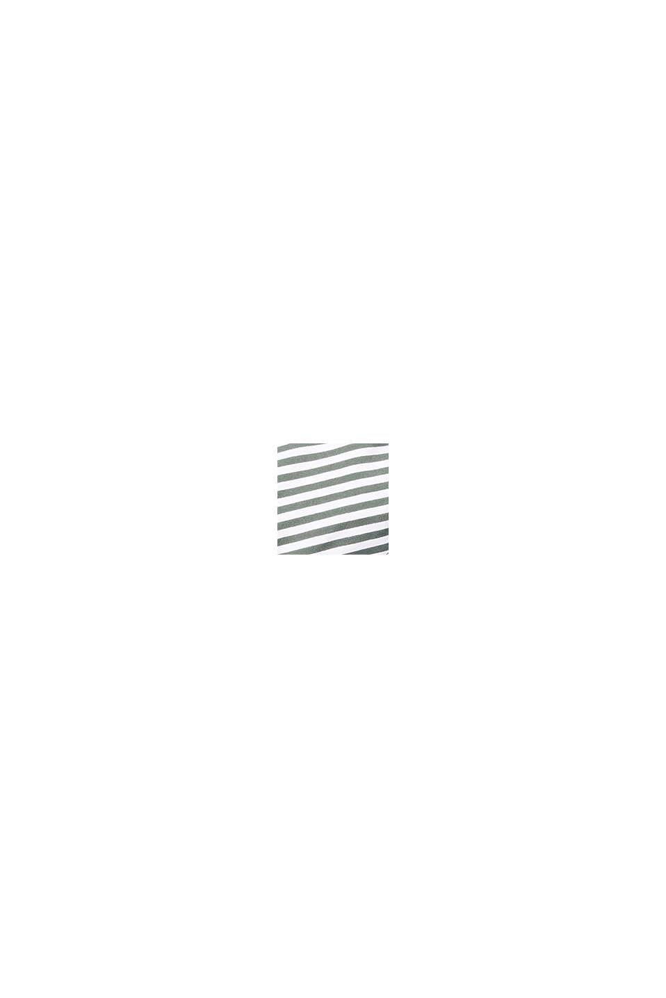 Bøjle-top med striber til store skålstørrelser, OLIVE, swatch