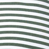 Recycled: halterneck top with stripes, OLIVE, swatch