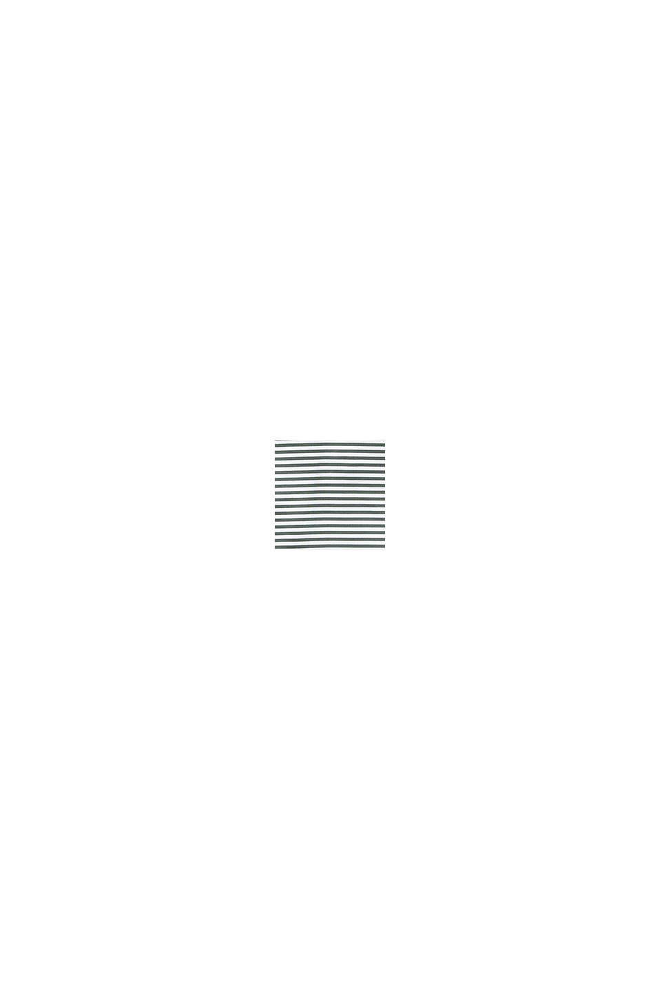 Recycelt: Long-Top mit Streifen, OLIVE, swatch