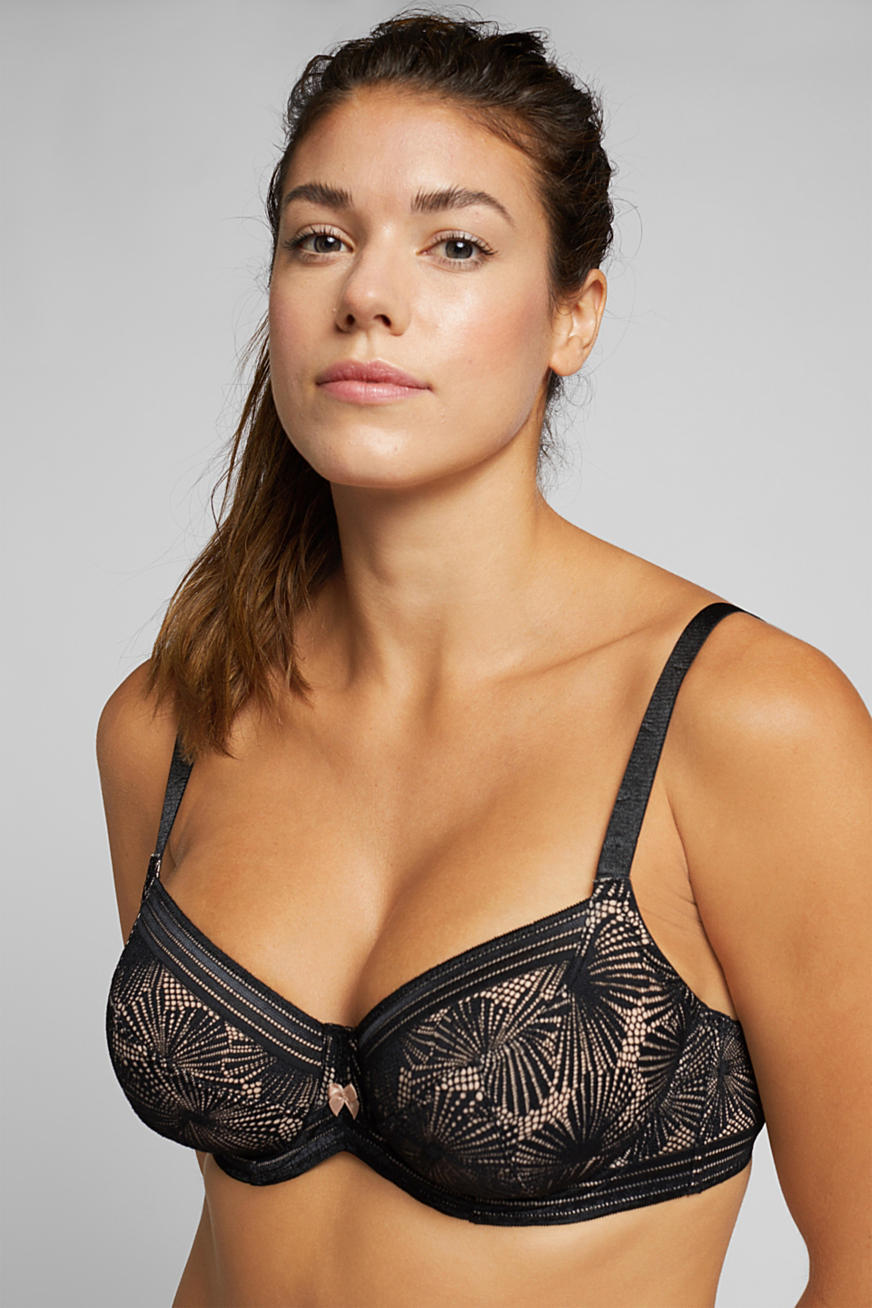 Recycled: Lace bra for larger cup sizes