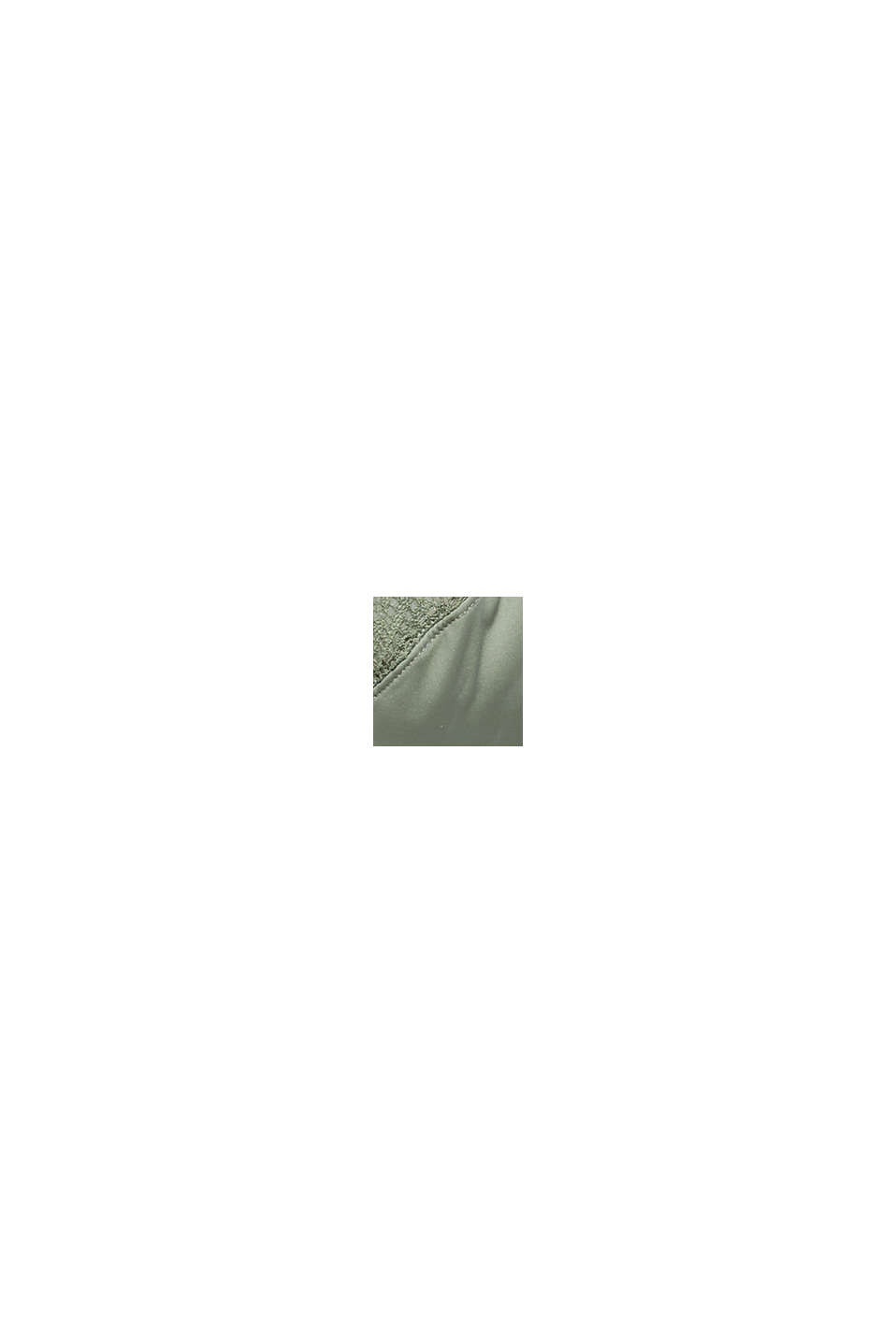 Sujetador de aros sin relleno con encaje, LIGHT KHAKI, swatch