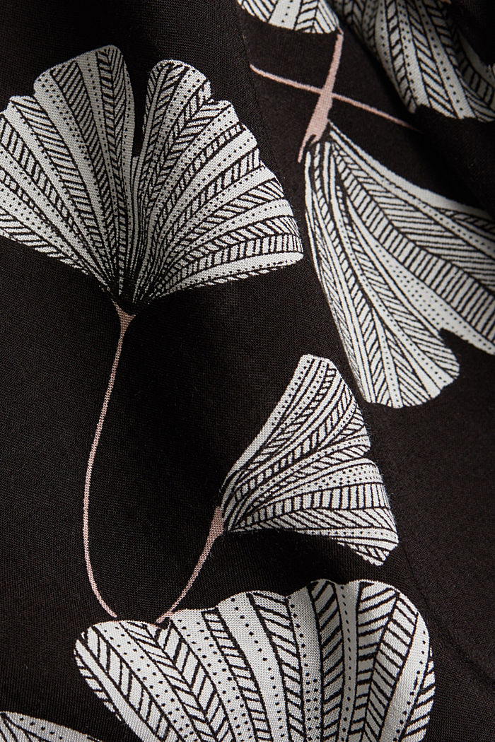 Pyjama aus LENZING™ ECOVERO™, BLACK, detail image number 3