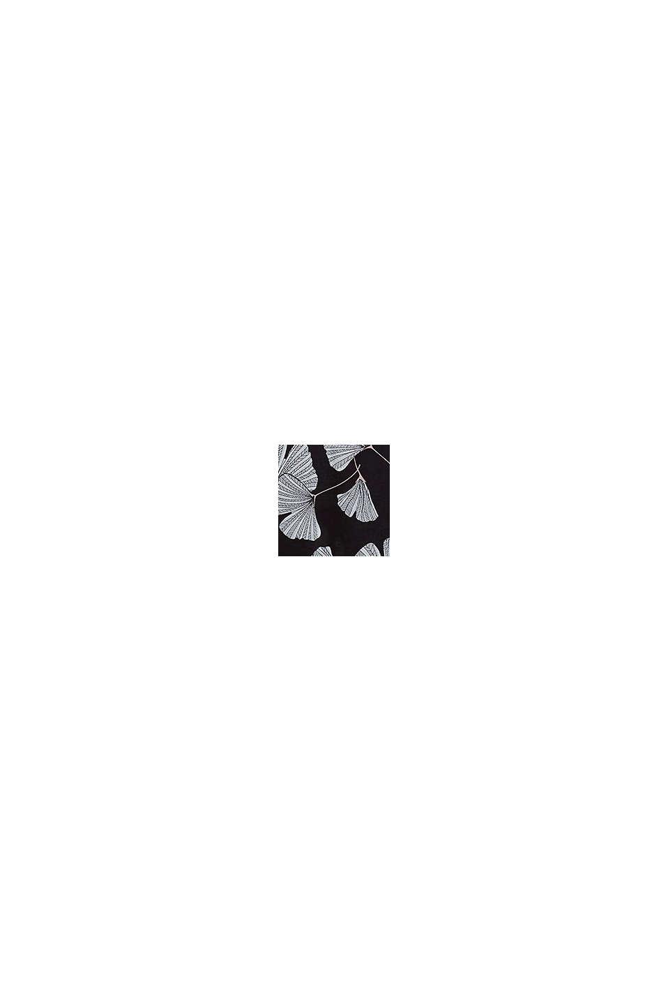 Nachthemd van LENZING™ ECOVERO™, BLACK, swatch