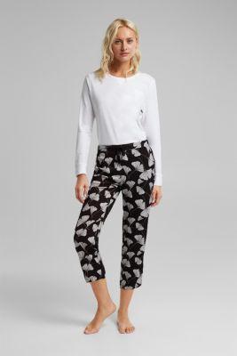 Pyjama bottoms, BLACK, detail