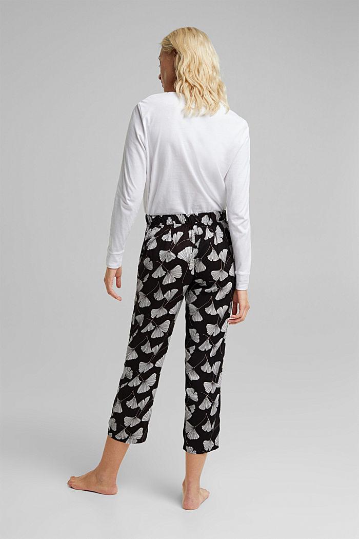 Pyjama Pants aus LENZING™ ECOVERO™, BLACK, detail image number 2