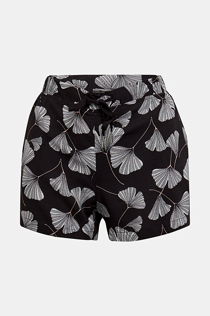 Shorts made of LENZING™ ECOVERO™, BLACK, detail image number 6