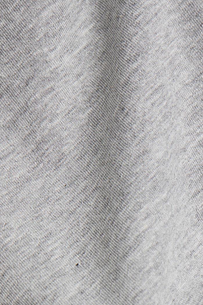 Pyjama van een katoenmix, LIGHT GREY, detail image number 4