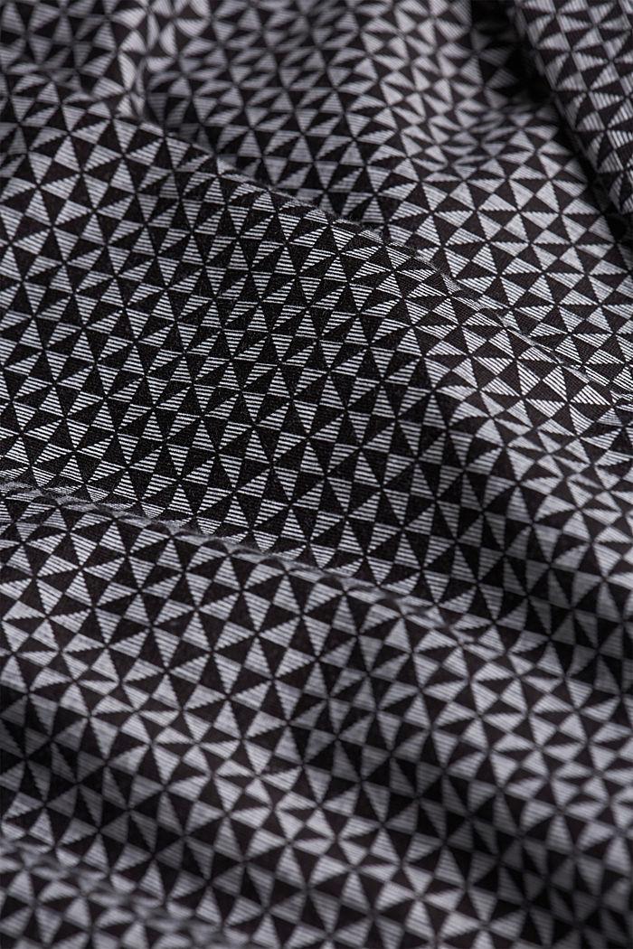 Nightshirt made of 100% organic cotton, BLACK, detail image number 4
