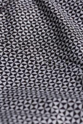 Nightwear shorts made of 100% cotton, BLACK, detail