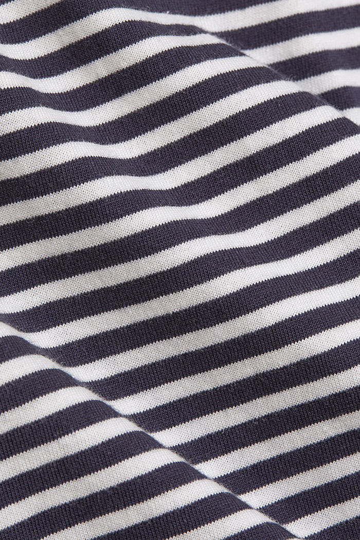 Nightshirt with stripes, organic cotton, NAVY, detail image number 4