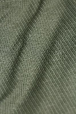 Jersey pyjamas with LENZING™ ECOVERO™, LIGHT KHAKI, detail
