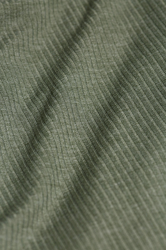 Pijama de jersey con LENZING™ ECOVERO™, LIGHT KHAKI, detail image number 4