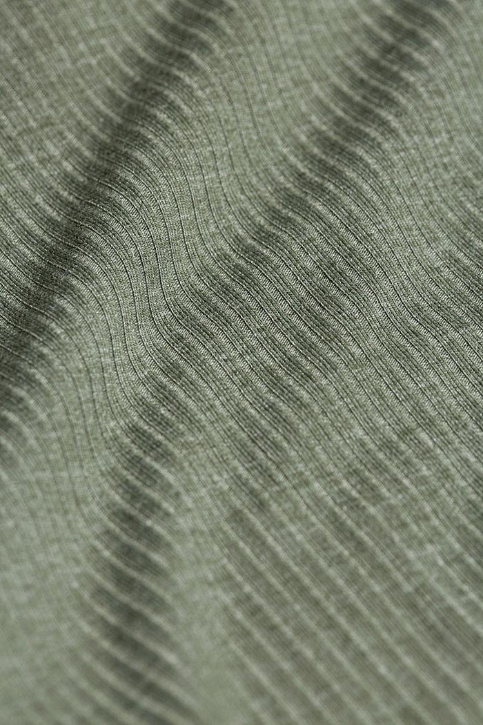 Jersey pyjamas with LENZING™ ECOVERO™, LIGHT KHAKI, detail image number 4