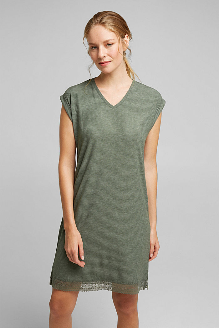 Jersey nightshirt with LENZING™ ECOVERO™