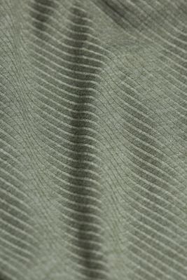 Jersey nightshirt with LENZING™ ECOVERO™, LIGHT KHAKI, detail