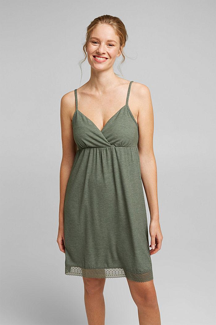Jersey chemise with LENZING™ ECOVERO™