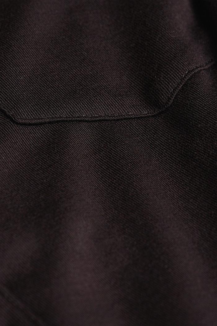 Jersey-Pyjama aus LENZING™ ECOVERO™, BLACK, detail image number 4