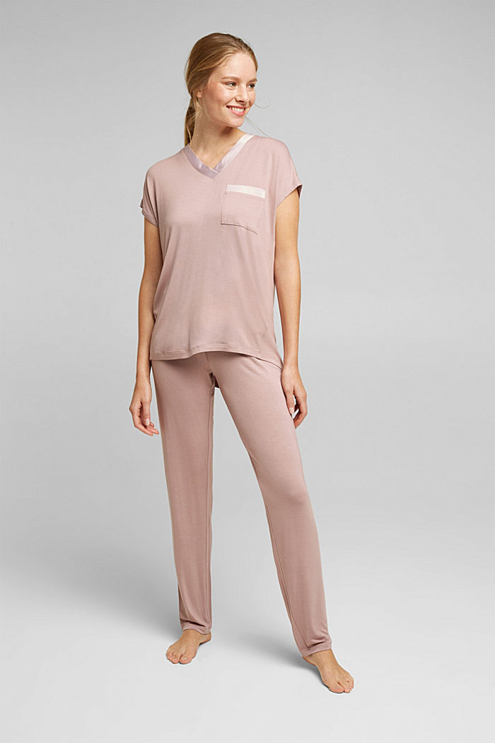 Jersey pyjamas in LENZING™ ECOVERO™
