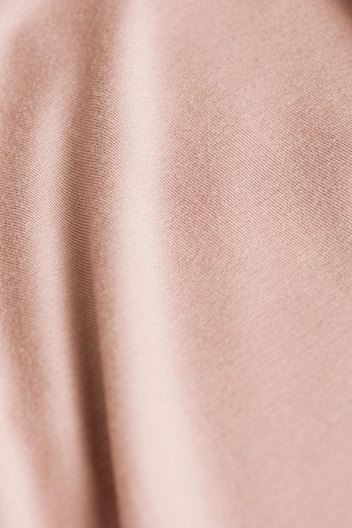 Nightshirt made of LENZING™ ECOVERO™, OLD PINK, detail image number 4