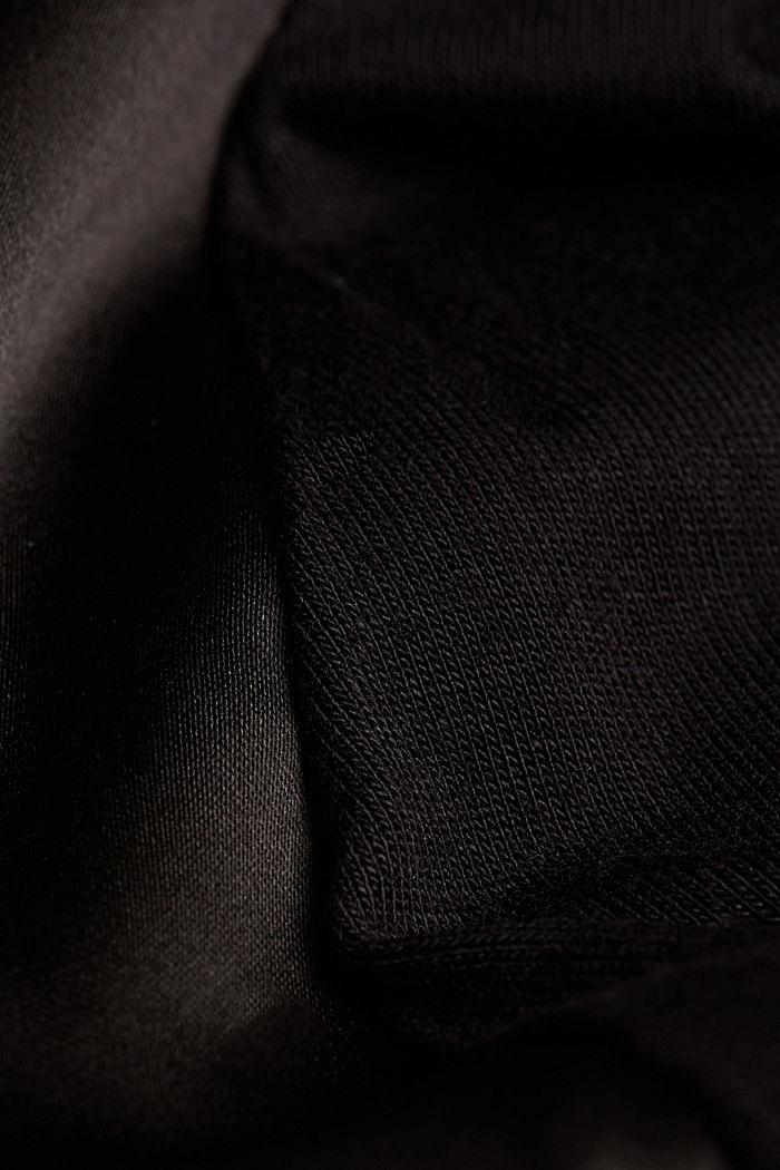 Jersey kimono van LENZING™ ECOVERO™, BLACK, detail image number 4