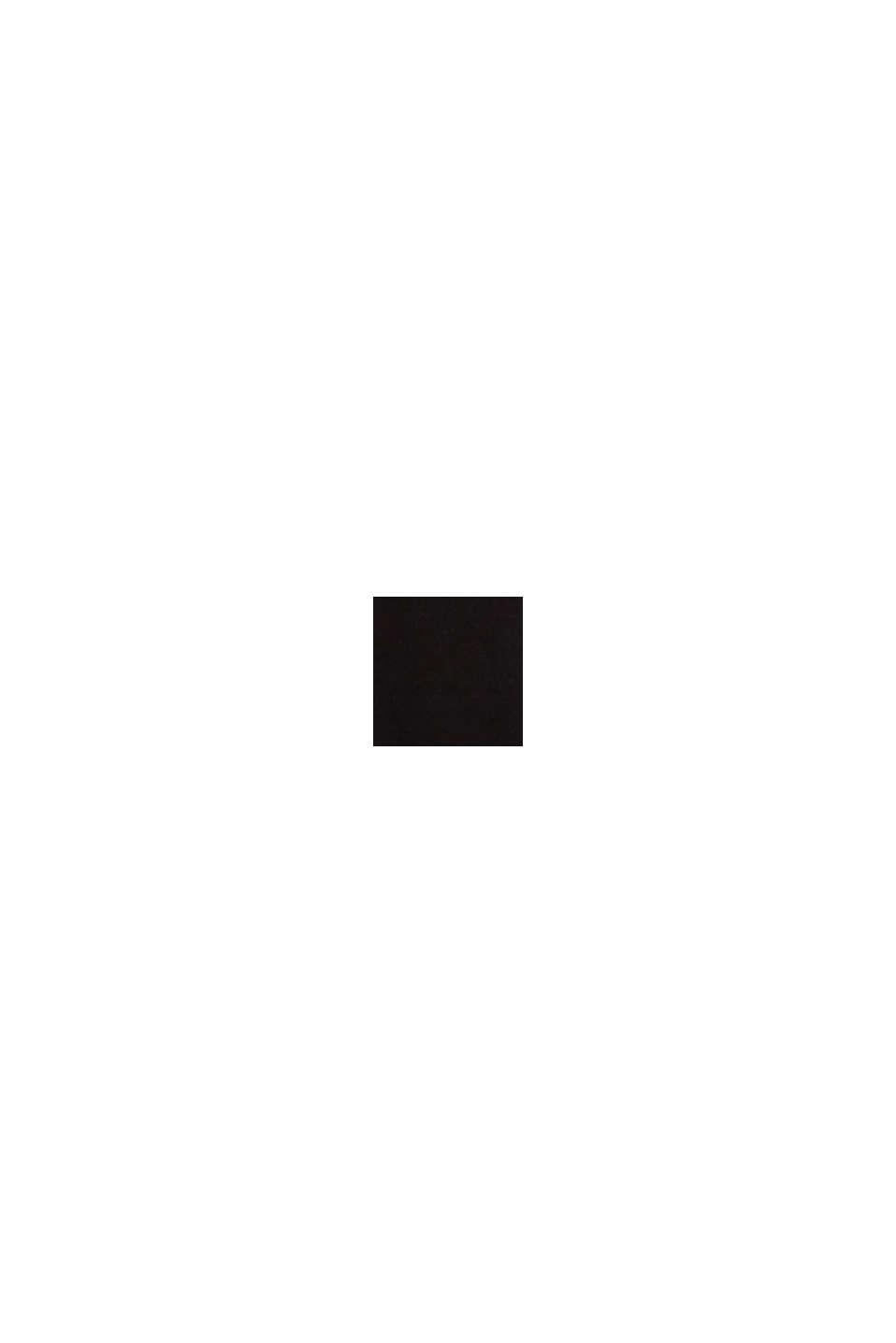 Žerzejové kimono z materiálu LENZING™ ECOVERO™, BLACK, swatch