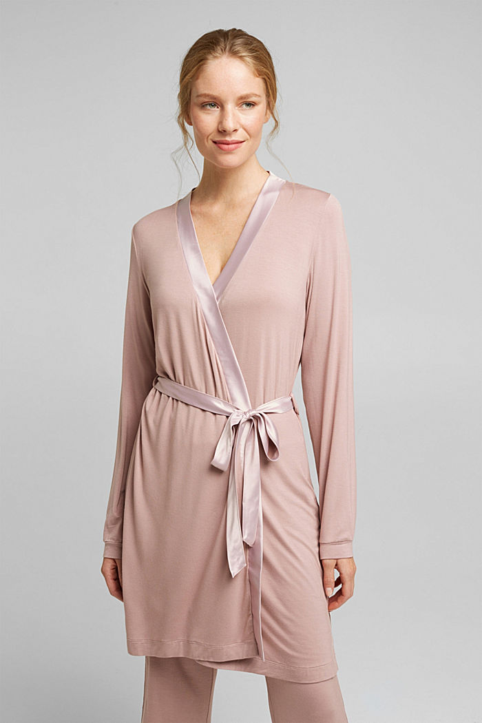 Jersey kimono made of LENZING™ ECOVERO™