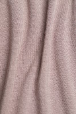 Nightshirt made of LENZING™ ECOVERO™, OLD PINK, detail
