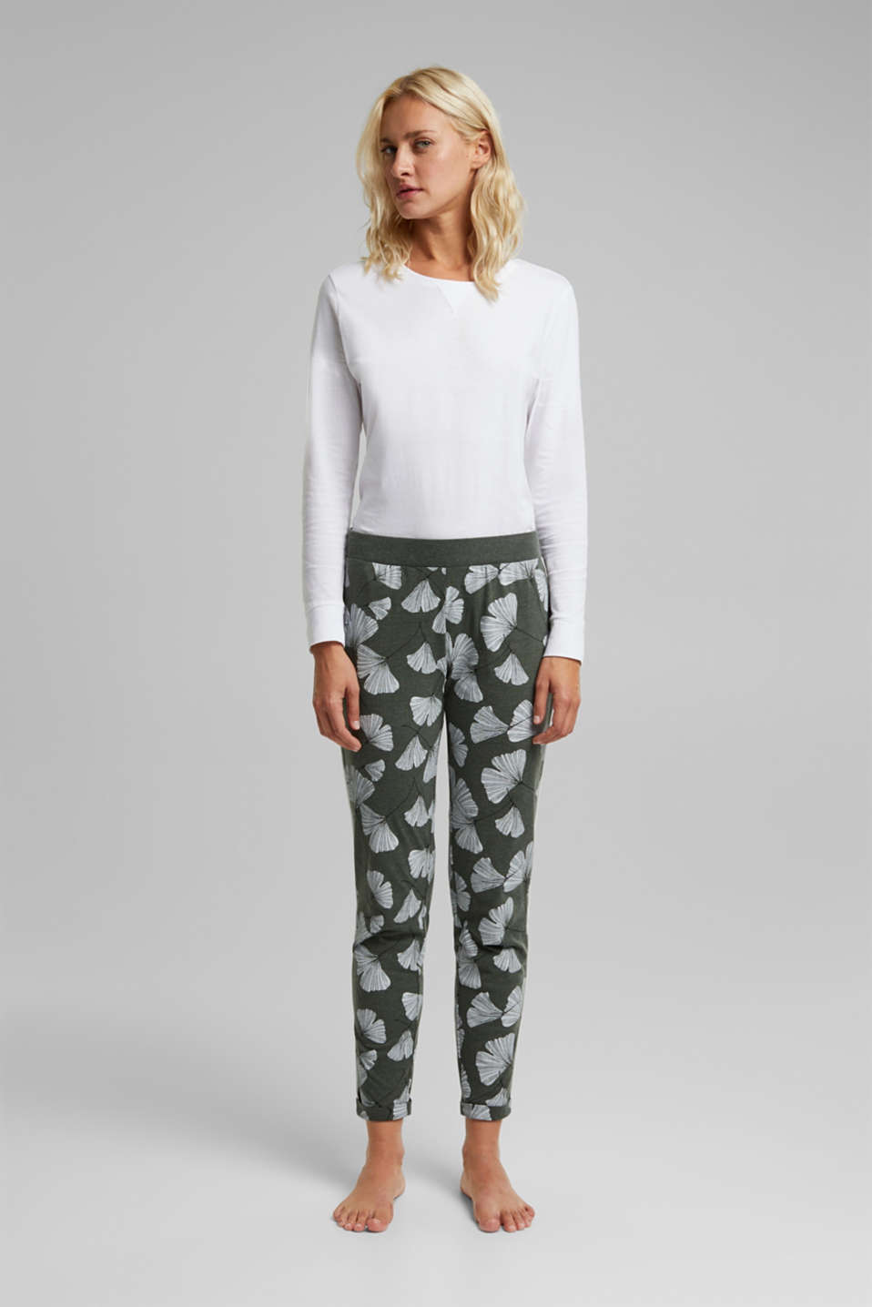 Esprit - Pyjama-Pants mit Organic Cotton