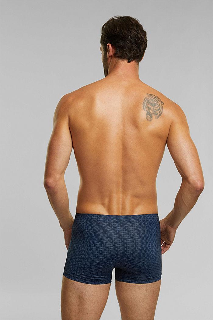 Gerecycled: set van 3 shorts van microvezels, NAVY, detail image number 1