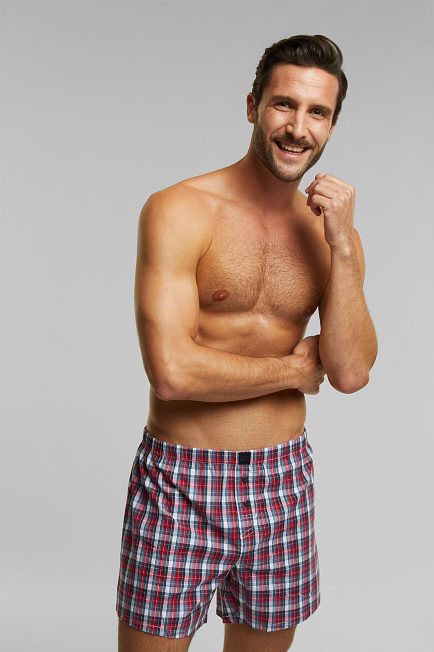 Double pack of boxer shorts, 100% organic cotton