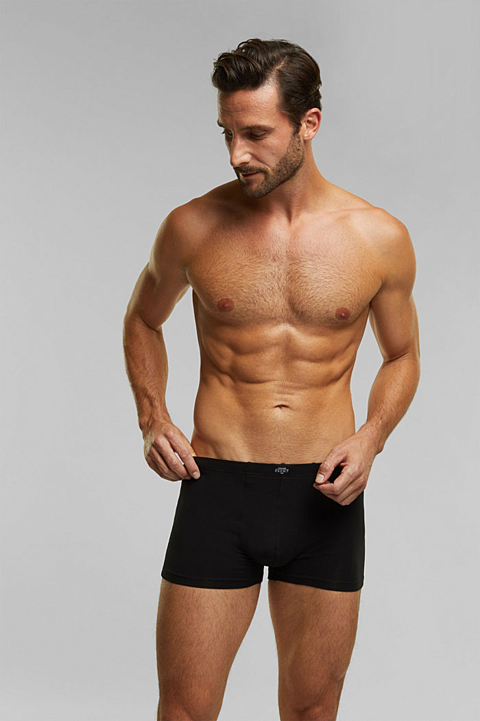 6er Pack Shorts aus Baumwollstretch, BLACK, detail image number 0