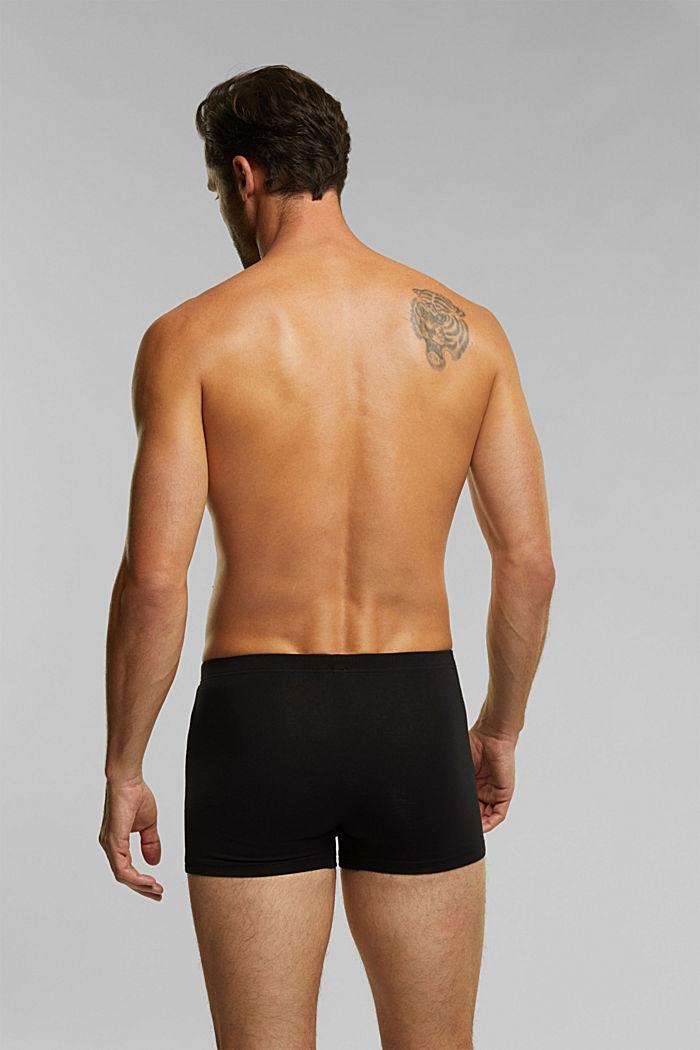 6er Pack Shorts aus Baumwollstretch, BLACK, detail image number 1