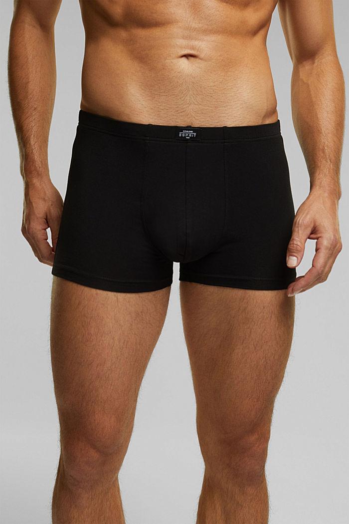 6er Pack Shorts aus Baumwollstretch, BLACK, detail image number 2