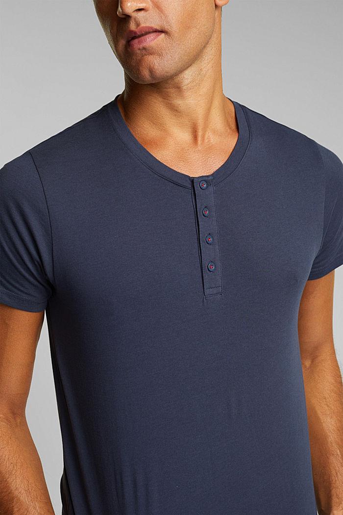 Jersey pyjamas in 100% organic cotton, NAVY, detail image number 3