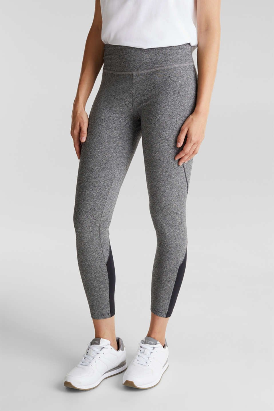 Esprit - Two-tone leggings, organic cotton
