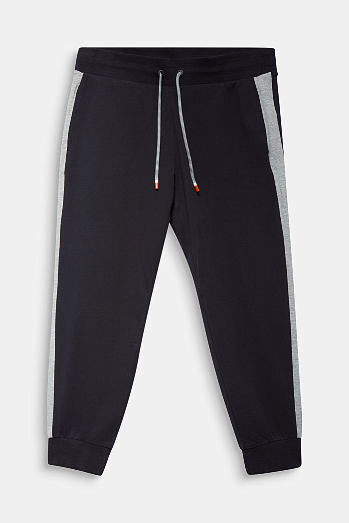 CURVY Sweat Pants mit Organic Cotton, BLACK, detail image number 6
