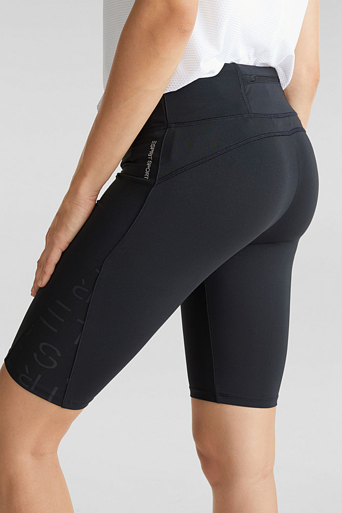 Active trousers with E-DRY, BLACK, detail image number 5