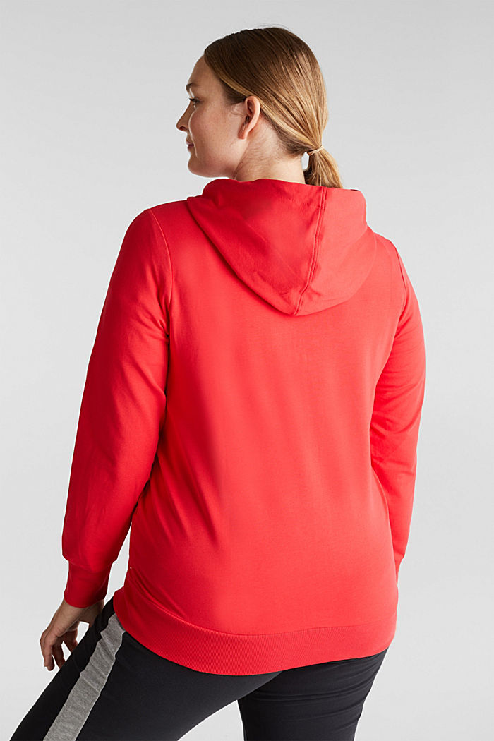 CURVY hoodie with stretch for comfort