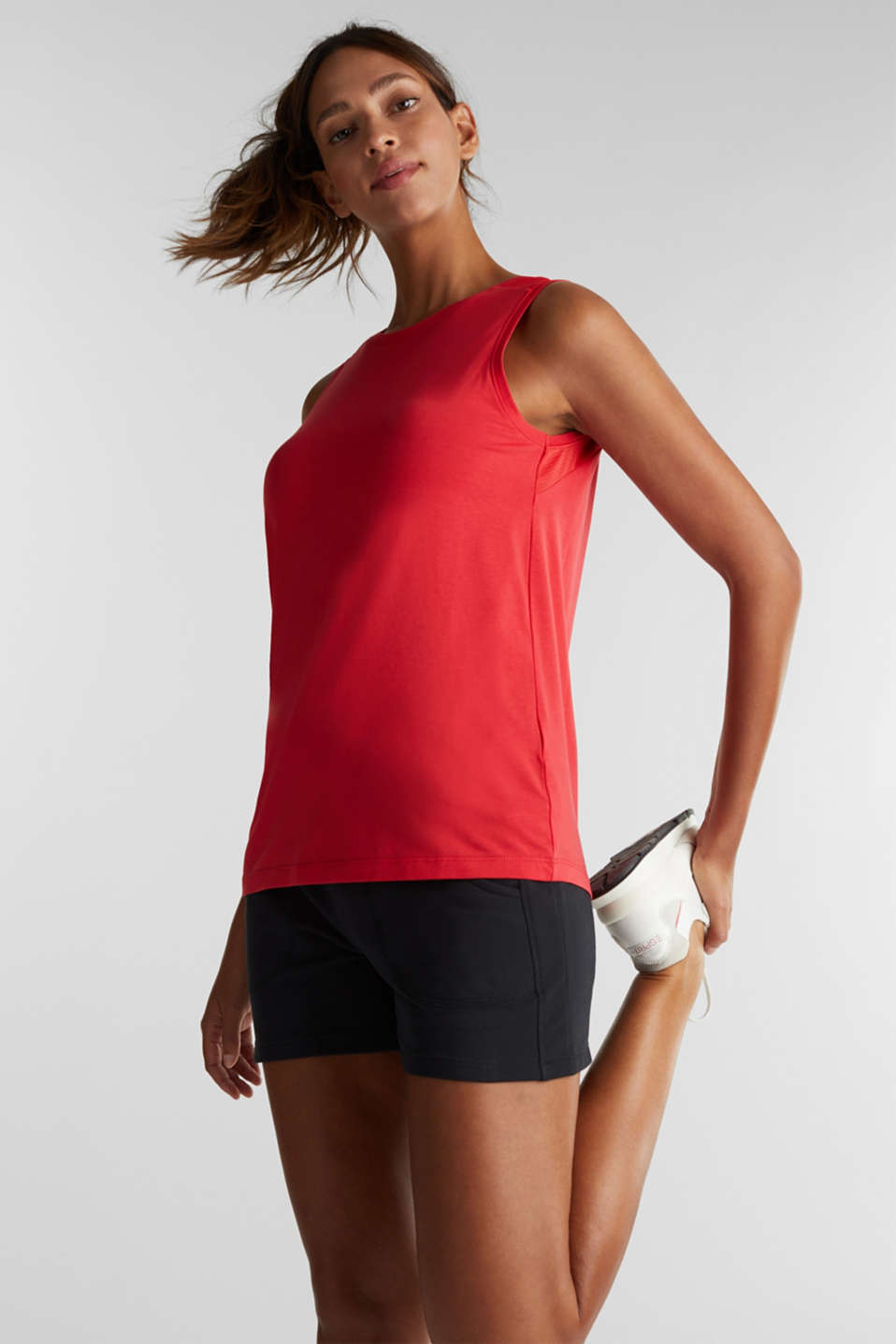 Esprit - Tank-Top mit Organic Cotton