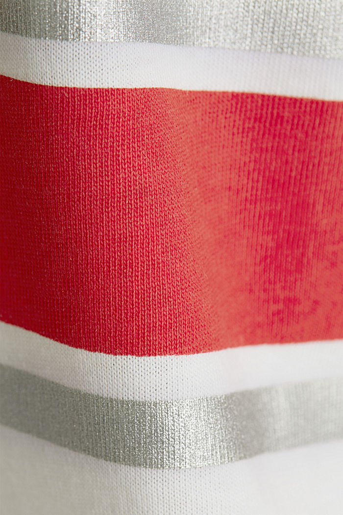 T-Shirt aus 100% Organic Cotton, WHITE, detail image number 4