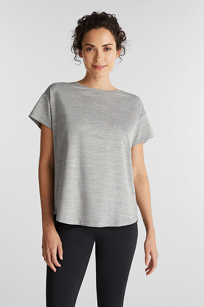 Active E-Dry T-shirt, MEDIUM GREY, detail image number 0