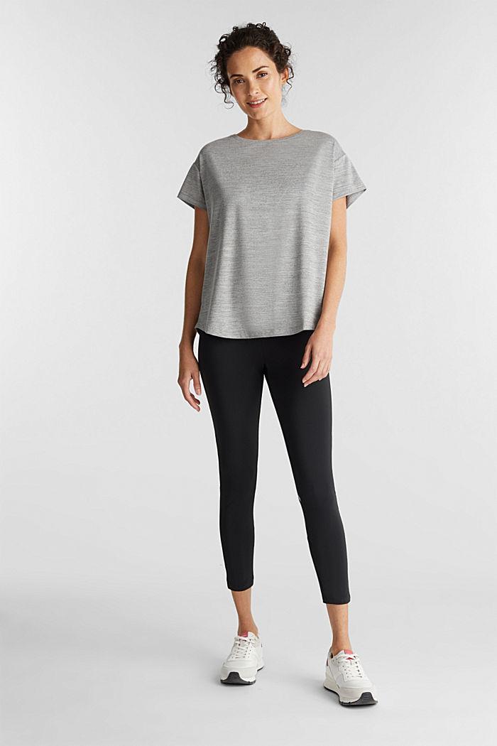 Active E-Dry T-shirt, MEDIUM GREY, detail image number 1