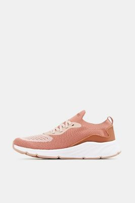 Knitted trainers with a lightweight sole, BLUSH, detail